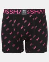 Crosshatch 3 Pack Neonbox Printed Bodyshorts Black/Pink Photo