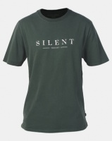 Silent Theory Spell Out Tee Bottle Green Photo