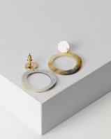 New Look Shell Ring Drop Finish Gold Photo