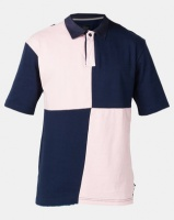 D-Struct Blocked Rugby Shirt Navy Photo