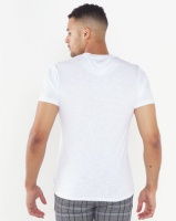 Bellfield Friends Of The Earth Organic Cotton Earth T-Shirt White Photo