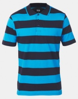JCrew Stripe Golfer Blue Photo