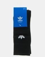 adidas Originals Mens Thin Trefoil Crew Black Photo