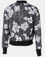 adidas Performance Girls Floral X Farm Jacket Black Photo
