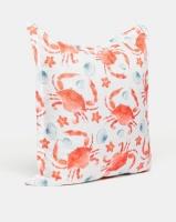 Grey Gardens Crabs Scatter Cushion Orange Photo