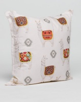 Grey Gardens Lama Scatter Cushion White Photo