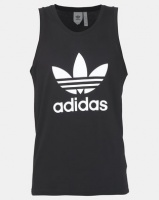 adidas Originals Trefoil Tank Black Photo