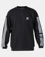 adidas Originals New Icon Crew Sweatshirt Black Photo