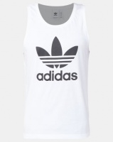 adidas Originals Trefoil Tank White Photo