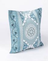 Utopia Medium Frill Scatter Cushion Turquoise Photo