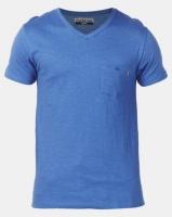 Beaver Canoe Swagga V-Neck Slub Textured T-Shirt Smokey Blue Photo