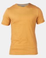 Beaver Canoe Swagga Basic Crew Neck Roll-Up T-Shirt Stone Photo