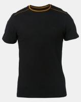 Beaver Canoe Swagga Tipped Crew Neck T-Shirt Black Photo