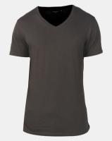 Brave Soul Classic V Neck T-shirt Khaki Photo