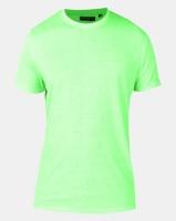 Brave Soul Crew Neck T-shirt Neon Green Photo