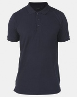 Brave Soul Classic Sleeve Tipped Golfer Navy Photo