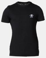 Brave Soul Eye Chest Print T-Shirt Black Photo