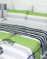 Sheraton Asia Lime Duvet Cover Set Green Photo