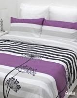 Sheraton Asia Lime Duvet Cover Set Purple Photo