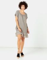 Assuili Flying Linen Dress Desert Photo