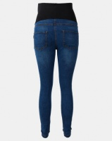 Cherry Melon Powerfit Skinny Jeans Mid Blue Photo