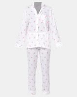 Lila Rose Flamingo Print Long Sleeve Voile PJ Multi Photo
