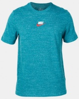 Nike M NSW Embroidered Heritage Tee Blue Photo