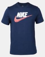 Nike M NSW Tee Brand Mark Navy Photo