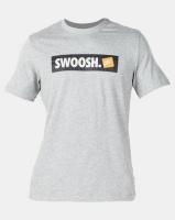 Nike M NSW Swoosh BMPR Striker Tee Grey Photo