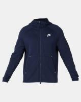 Nike M NSW TCH FLC FZ Hoodie Blue Photo