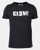 Vents Brull Melange Eish T-Shirt Black Photo