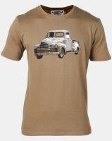 Vents Brull Chev Bakkie T-Shirt Olive Photo
