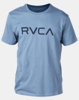 RVCA Big Rvca Ss Tee Blue Photo