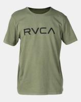 RVCA Big Rvca Pigment Ss Tee Green Photo