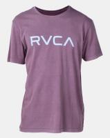 RVCA Big Rvca Pigment Ss Tee Purple Photo