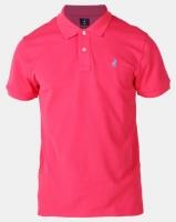 Polo Mens Carter Custom Fit Ss Pique Golfer Raspberry Photo