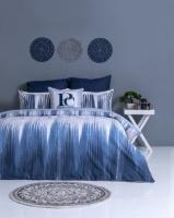Pierre Cardin Miranti Duvet Cover Set Blue/White Photo