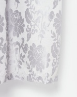 Horrokses Fashions Jacquard Curtain Duckegg Floral Photo