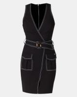 Sissy Boy Boity Mini Cargo Dress Black Photo