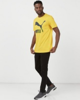 Puma Sportstyle Prime Classics Logo Tee Sulphur Yellow Photo