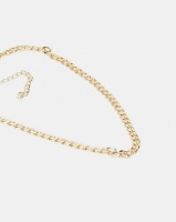 All Heart Chain Linked Necklace Gold-tone Photo