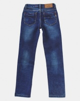 Soviet Commodus Skinny Denim Jeans Indigo Photo