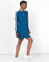 adidas Originals Tee Dress Blue Photo