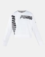 Puma Sportstyle Core Modern Sport Crew Sweat Puma White Photo