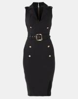 Sissy Boy Girl Boss Collared Dress Black Photo