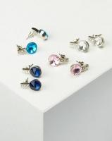 Queenspark Best Selling 4 Pack Earrings Multicoloured Photo
