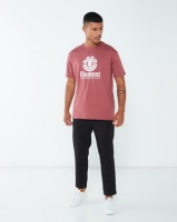 Element Vertical Ss Tee Red Photo