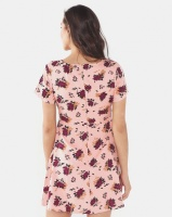 All About Eve Filed Of Flowers Print Dress Pink Photo