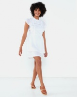 All About Eve Ornamental Dress White Photo