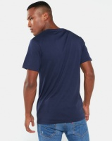 ASICSTIGER AHQ At Graphic Short Sleeve Tee Blue Photo